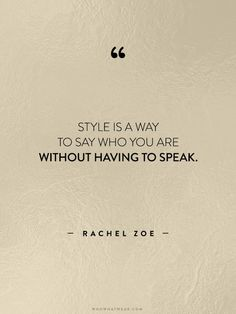 Inspirational Quotes Fashion