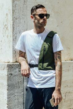 9 Street-Style Takes on the Wardrobe Staple Marlon Brando Made Famous - Gallery - Style.com