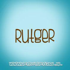 Rutger (Voor meer inspiratie, en unieke geboortekaartjes kijk op www.heyboyheygirl.nl)