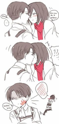 Levi and Mikasa Ackermann <3