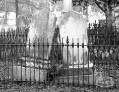 """Growing Old Together...""""Two hearts that have been merged is marriage; two souls that have been merged is fate."""" ~ Danny...........Gravestones in a cemetary in York, SC. First in marriage and then in death, they grow old together."""