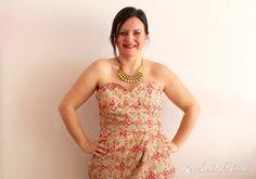 party dress strapless lace dress sew sewing fashion blog straplez elbise dantel elbiseler güpür abiye moda dikiş