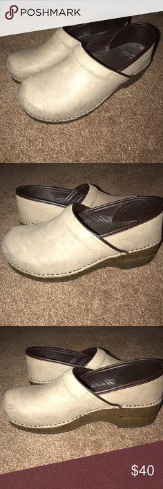 Dansko Shoes Tan Dansko Shoes. Worn a few times. Dansko Shoes