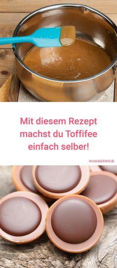 Eine super Idee: Toffifee selbermachen! Hier gibt es das Rezept. #rezept #süßes #toffifee