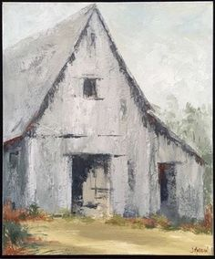 We are obsessed too ・・・ Fresh off the easel. A little obsessed with barns these days! Barn Drawing, Painting & Drawing, Farmhouse Paintings, Barn Art, Old Barns, Pastel Art, Pictures To Paint, Painting Techniques, Painting Inspiration