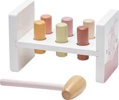 Osta Kids Concept Edvin Hakkalelu, Vaaleanpunainen   Jollyroom Triangle, Pink, Concept, Home Decor, Red, Creative, Crafting, Decoration Home, Room Decor