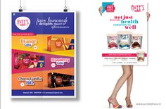Poster Designs for AVEE'S Ice Cream by Purple Phase Communications. www.purplephase.in