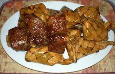 patupat or sinambong (Glutinous Rice dessert)