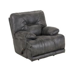Lowest price online on all Catnapper Voyager Power Lay Flat Recliner in Slate - 643807122853302853