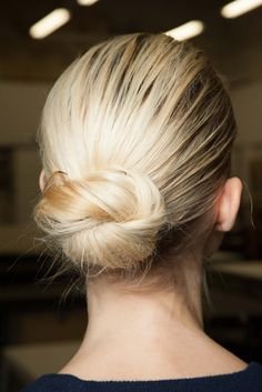 Twisty bun // #hair