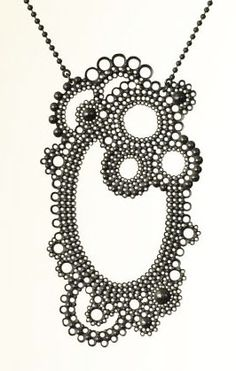 Necklace by Swedish jewellery designer, Anna Atterling.