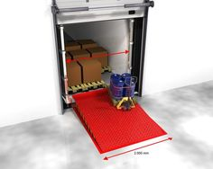 Loading Systems dock leveller dimensions #2