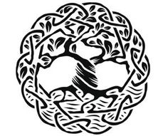 celtic tree of life  In the Gaelic language, the tree of life is referred to as the 'crann bethadh'.