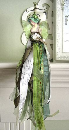 St. Patrick's Day Doll - Reader Featured Project | Graphics Fairy