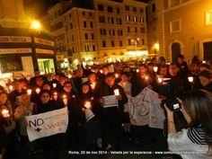 @CNNMex la comunidad mexicana de Roma alza la voz hoy en la velada por #Ayotzinapa, mucha gente #YaMeCanse