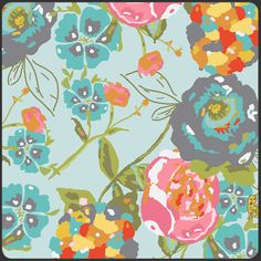 Lilly Belle from Bari J for Art Gallery Fabrics. The more I look at the this line, the more I fall in love with it.
