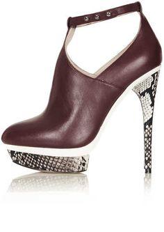Topshop Stella Platform Shoe Boots