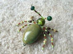 Dragon Bird, Spider Decorations, Beaded Spiders, Beaded Animals, Dragons, Bugs, Beaded Jewelry, Insects, Jewelery
