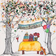 かわいい画像でお祝い!SNSでよろこばれる誕生日おめでとうロゴ35選|MERY [メリー]