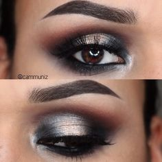 Put down the ciggy  the smoke goes only on my eyes.  Details:  Brows: @anastasiabeve...   Use Instagram online! Websta is the Best Instagram Web Viewer!