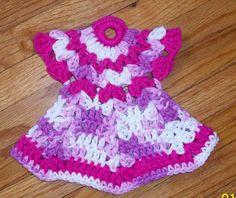 Free Crochet Patterns To Print | CROCHET DRESS POTHOLDER - Crochet — Learn How to Crochet