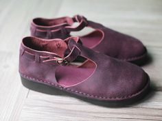 Handmade Summer Shoes for Women,Flat Shoes, Casual Shoes,Sandal, Retro Oxford Shoes, Vintage style Leather Shoes,Personal Shoes