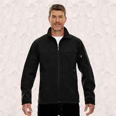 Ash City-North End-Mens Performance Soft Shell Jacket-88099