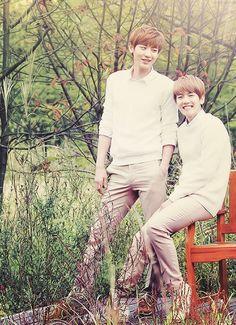 Baekyeol- I really love them!!!! And I love baekhyuns smile xD <3