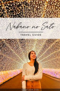 Witness one of Japan's largest winter illuminations and flower park at Mie Prefecture's Nabana no Sato with the help of this travel guide! // #Japan #Winter Nagoya, Travel Advice, Travel Guides, Nabana No Sato, Adventure Travel, Adventure Awaits, Travel Pictures, Travel Pics, Flower Festival