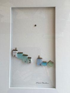 12 von 16 umrahmt Kiesel und Meer Glaskunst von von PebbleArt
