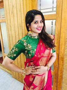 Saree in style