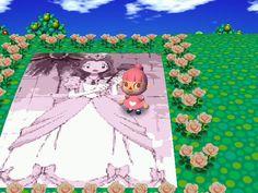 Digimon art in Animal Crossing. Epic win!