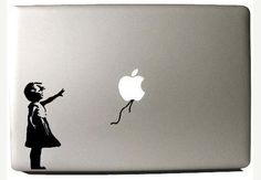 macbook decal macbook stickers ipad decal macbook by sylvieouch, $5.35  Love this...