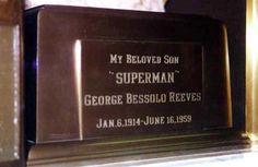George Reeves, Mountain View Cemetery and Mausoleum, Altadena, CA