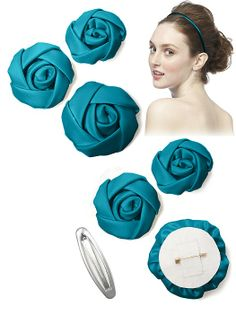 Set of 3 Flowers and Headband http://www.dessy.com/accessories/set-of-3-flowers/?color=oasis&colorid=995#.UstivmRDu9M