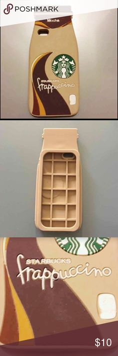 """HOST PICK Starbucks iPhone6plus/6splus cover 3D soft silicone iPhone6PLUS 6sPLUS Starbucks phone case phone cover  Starbucks  Frappachino  Mocha Ice coffee Chocolate  Phone case  Phone cover   Compatible with iPhone6PLUS 6sPLUS  This item does not have """"tags"""" but it is sealed with plastic. Never used...brand new.  SOLD AS IS... Ships to USA only. Please keep in mind that it is the holidays. Thank you:) Accessories Phone Cases"""