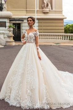 Crystal Design Haute Couture 2017 Wedding Dresses