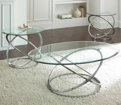 Steve Silver Orion 3 Piece Occasional Set - Item Number: RN3000B+T