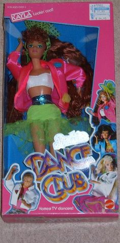 My first Kayla Barbie doll. I LOVED her! mean boys I knew shot her with bb guns :( very traumatic...