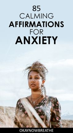 85 Calming Affirmations for Relieving Anxiety and Panic Attacks : Positive affirmations have been life-changing for my anxiety. Find out how to apply these 85 calming affirmations for anxiety and panic attacks. Anxiety Quotes, Anxiety Tips, Social Anxiety, Stress And Anxiety, Anxiety Help, Anxiety Relief, Stress Relief, Anxiety And Depression, Calming Anxiety