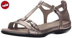 Ecco Flash Damen US 10 Silber Gladiator Sandale - Ecco schuhe (*Partner-Link)