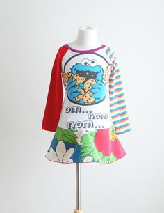 Chloe would go crazy over this!    Upcycled Dress Children Clothing Upcycled by LittleOvercoat, $30.00