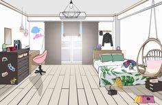 Dorm Layout, Dorm Room Layouts, Dorm Rooms, Room Ideas Bedroom, Room Decor, Dorm Room Pictures, Room Ideias, Dorm Design, Pastel Bedroom