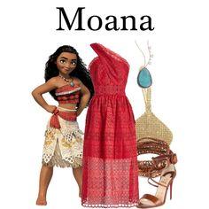 Fashmates Outfit Inspiration: Moana Moana Outfits, Disney Outfits, Disney Clothes, Meira T, Fandom Fashion, Princess Birthday, Disneybound, Aesthetic Fashion, Polyvore Fashion