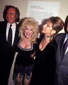 Dolly Parton & Barbra Streisand