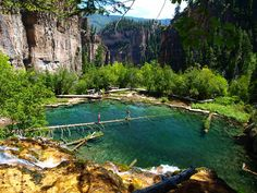 Hanging Lake, Glenwood Springs, Colorado. One of my favorite places in all of creation.