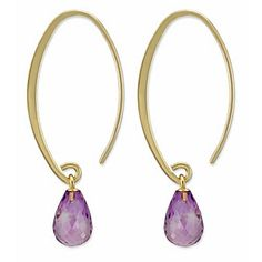 14k Amethyst #Earrings from Borsheims for $215