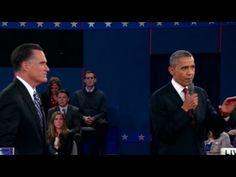 Obama, Romney get heated over Libya (2012)