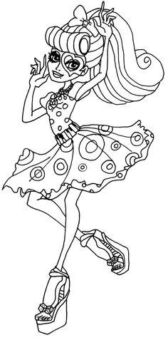Ausmalbilder Monster High 8 56 Malvorlage Monster High