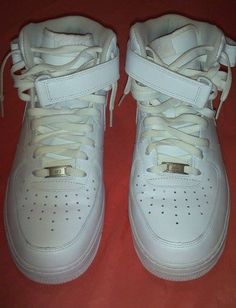 9d4501cb45f Mens Nike Air Force 1  07 White 315122-111 Size 12